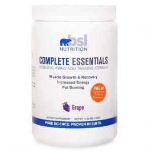 bsl nutrition complete essentials grape image