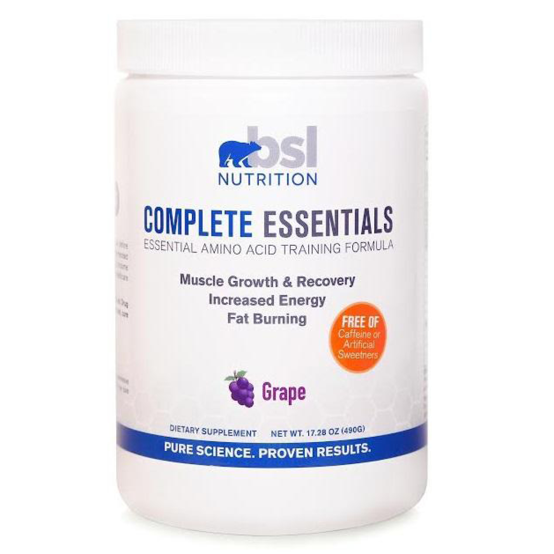 bsl nutrition complete essentials grape image