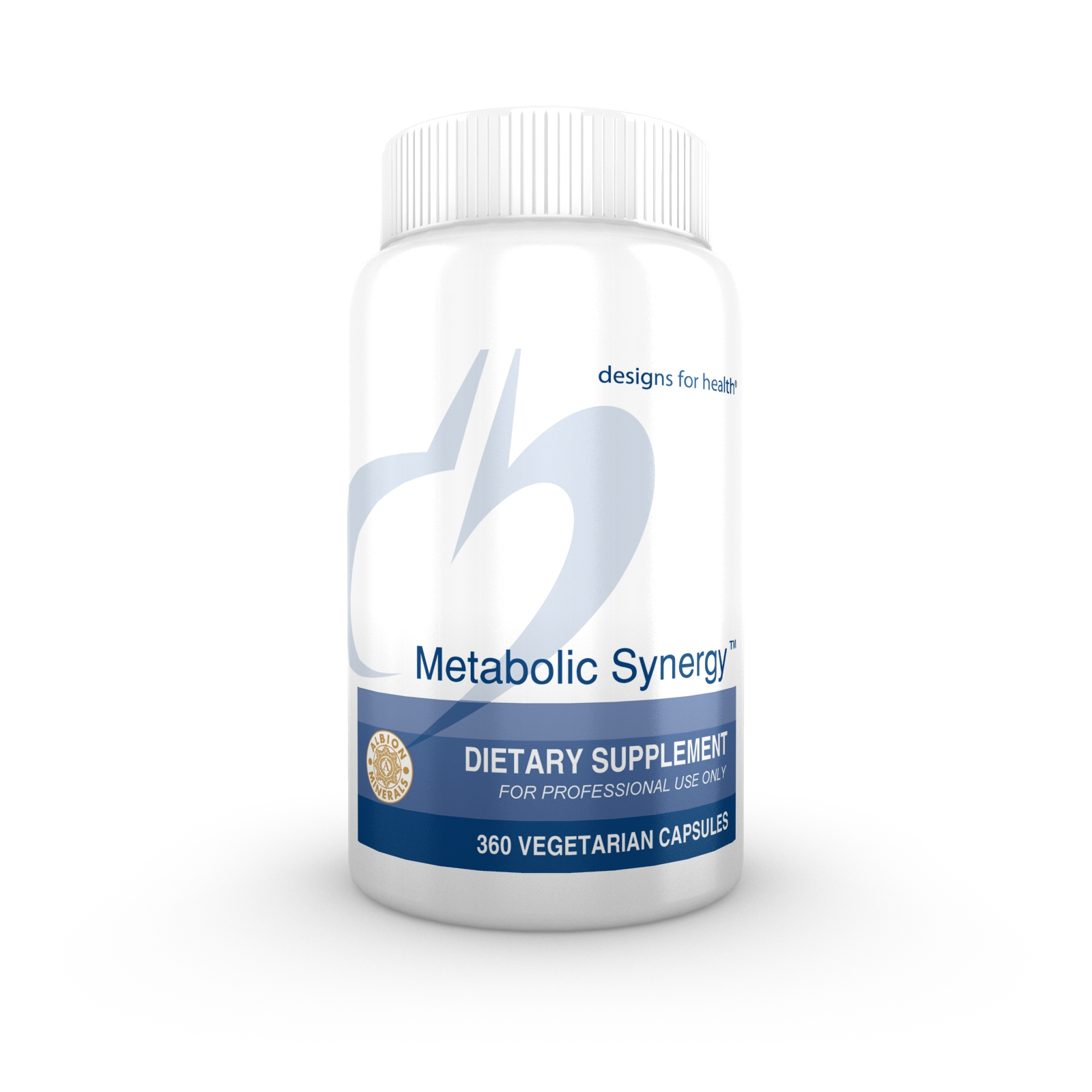 designs for health Metabolic Synergy Capsules 360 vegetarian capsules image