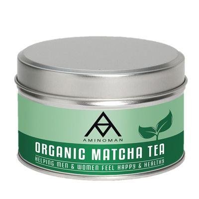 amino man matcha green tea image