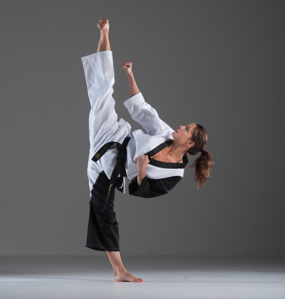 chloe bruce interview martial arts kick