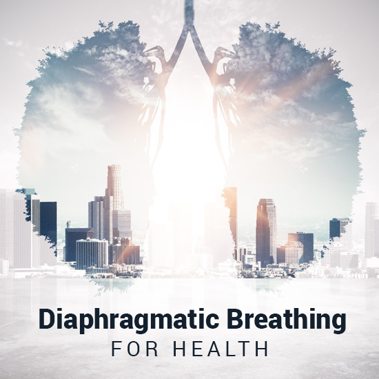 home diaphragmatic breathing for health image