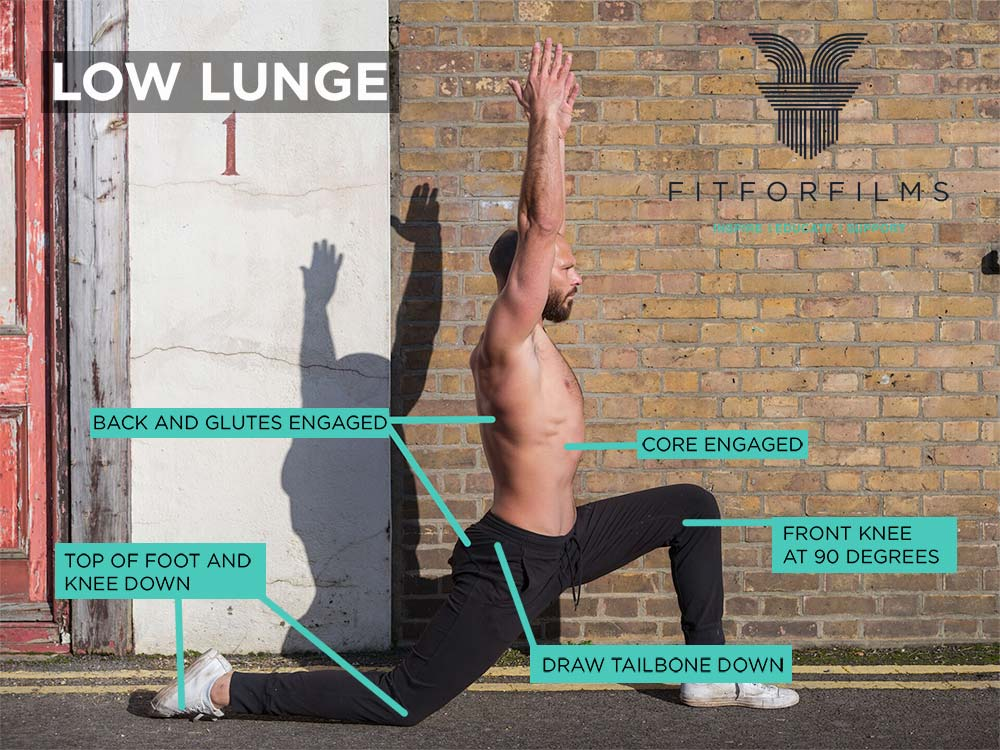 low lunge image