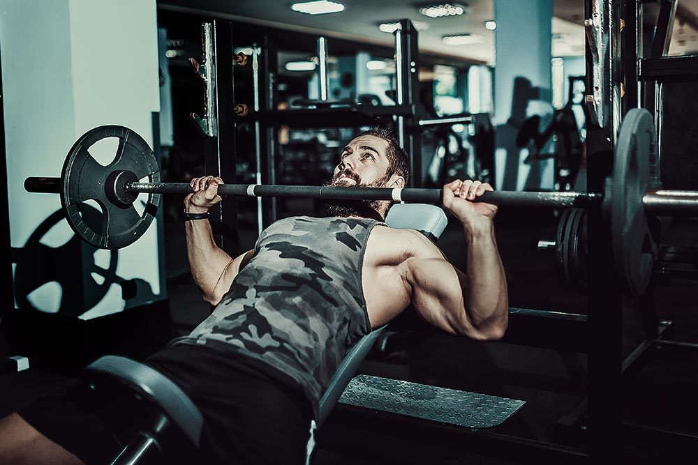 mastering compounds 2 bench press image