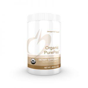 organic pure pea image