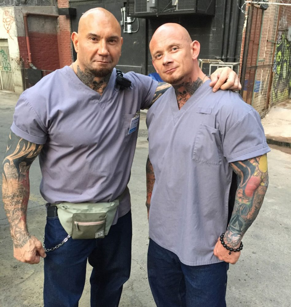 rob de groot with dave bautista image